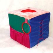 Кубик-пуфик фото
