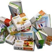 Изготовление цветной картонной коробки под заказ,автоматическая склейка и фальцовка фото