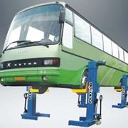 Оборудование подъемное автобусное фото