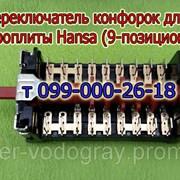 Переключатель конфорок для плиты Hansa (9 позиций) фото