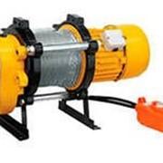 Лебедка KCD-1000 kg, 380 В с канатом 100 м фото