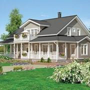 Деревянные финские дома - строительство под ключ фото