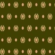 Напольное покрытие Туран 5386А, зеленый с медальонами 4 м фото