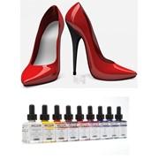 Немецкая краска для обуви Color Красный фото