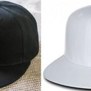 Кепка с прямым козырьком, Бейсболка, Snapback Пустышка, без логотипов. В наличии 2 цвета фото