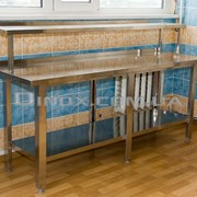Стол нержавеющий для промышленной кухни фото