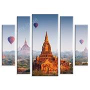 Картина Храмы в Непале фото