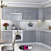 Кухонный гарнитур Юла серая фото