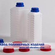 Бутылка прямоугольная K-02 , емкостью 2 литра Полиэтилен фото