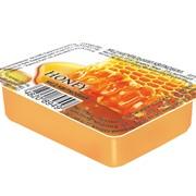 Мед в порционной упаковке стик и дип фото