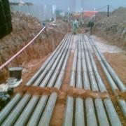 Прокладка кабельных линий фото