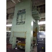 Предлагаем к реализации пресс КБ3540(усилием 1000 тн), 1987г.в., двухкривошипный закрытый, простого действия, холодной штамповки, с выдвижным столом. Пресс комплектный, рабочий, техническая документация есть фото