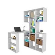 Угловой компьютерный стол МФ Мастер Рикс-3 + Рикс-5 фото