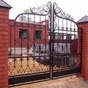 Реставрация кованых изделий (двери, ворота, перила и т.д.) фото