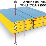Сэндвич-панели стеновые, панели для зданий скелетной конструкции. Сэндвич-панели оптом от производителя. Стеновые панели. Панельные конструкции. Здания из стеновых панелей. Быстровозводимые здания. фото