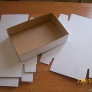 Микрогофра, упаковка з микрогофры, коробка для пиццы фото
