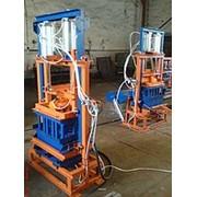 Пневматический пресс для производства шлакоблока УПСБ-3ПН фото