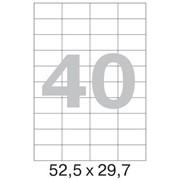 Офисные этикетки 52.5 x 29.7 mm, на листе 40шт (100 листов в пачке) фото