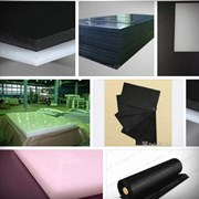 Полиэтилен листовой 10х1500х3000 мм, черный фото