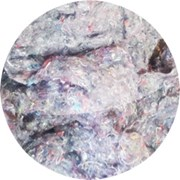 Вата из регенерированных хлопчатобумажных отходов  фото