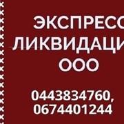 Услуги по ликвидации ООО. Экспресс ликвидация ООО  фото