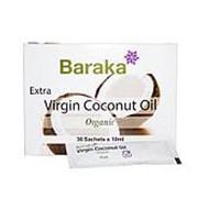 Кокосовое масло Baraka Virgin Organic нерафинированное, 36 пакетиков по 10 мл. фото