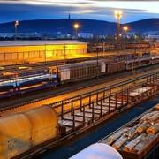 Логистические услуги. Логистика на железнодорожном транспорте фото