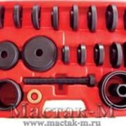 Набор оправок для монтажа и демонтажа ступичных подшипников. МАСТАК 100-30022C фото