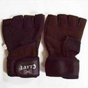Перчатки для фитнеса и пауэрлифтинга CF-012-2, S фото