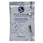 Pleyana Маска очищающая с французскими глинами белой и зеленой Pleyana - P.124 10 мл фото