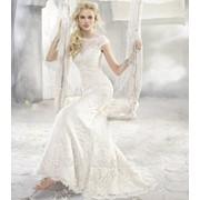 Брендовое свадебное платье фото