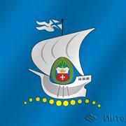 Флаг города Калининград (Калининградская область) фото