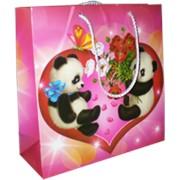 Подарочный пакет Панда фото