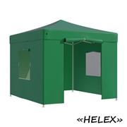 Тент садовый Helex 4331 3x3х3м полиэстер зеленый фото