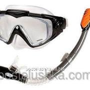 Набор для плавания маска + трубка Intex 55962 фото