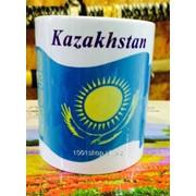 Кружка флаг Казахстана фото