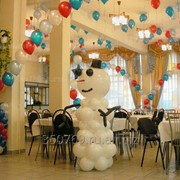 Украшение (оформление) праздника воздушными шарами фото