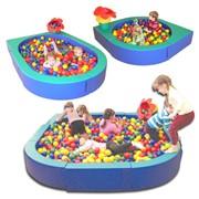 Модульный сухой бассейн-манеж Трансформер Модель: ART130 фото