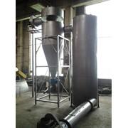 Сушильная установка: сушка опилок, спиртовой барды, пивной дробины,жома и др. биомассы фотография