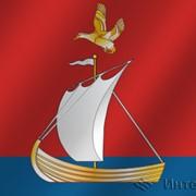 Флаг города Кандалакша (Мурманская область) фото