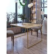 Стол складной (Золотой) фото