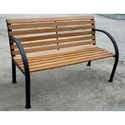 Скамейка со спинкой Jl-PB045B, артикул 12975 фото