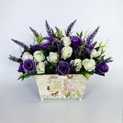 Букет искусственных цветов 3 фото