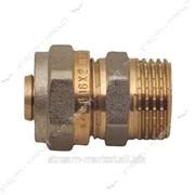 Фитинг СК металлопластиковый NTM professional цанга (муфта) 16*1/2 Н №126715 фото