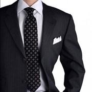 Индивидуальный пошив мужского костюма фото