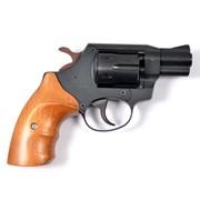 Травматический револьвер SAFARI 820G, черный/бук фото