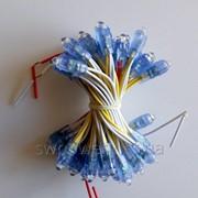 Светодиоды быстрого монтажа желтые (пиксели) 12В, 9ММ фото