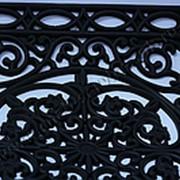 Коврик-решетка резиновый 40*60 ажурный фото