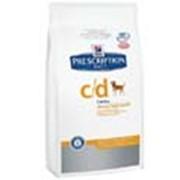 Корм Hill's Prescription Diet c/d для собак с заболеваниями мочевыводящих путей 2 кг фото