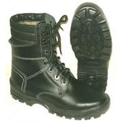 Ботинки с высокими берцами (утепленные) фото